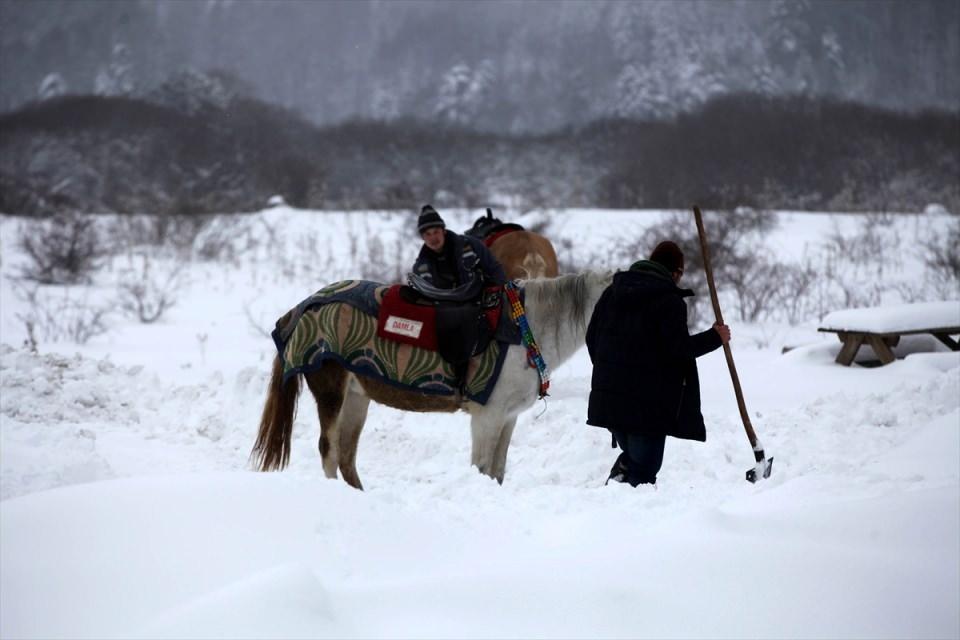 Türkiye'den kar manzaraları 91