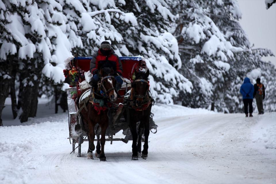 Türkiye'den kar manzaraları 92