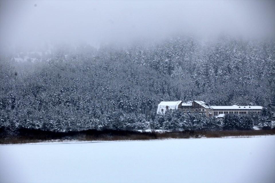 Türkiye'den kar manzaraları 95