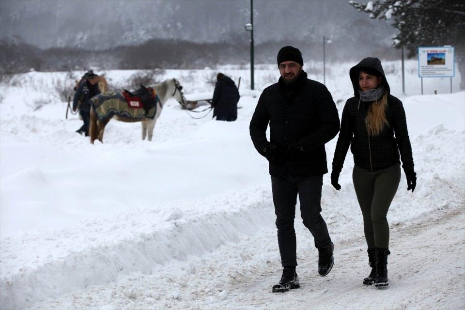 Türkiye'den kar manzaraları 96