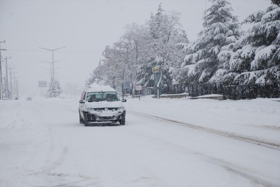 Türkiye'den kar manzaraları 98