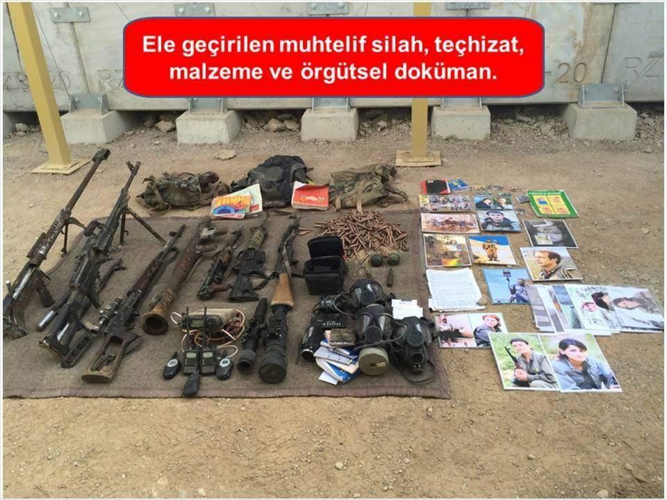 Diyarbakır'da terör operasyonu 110