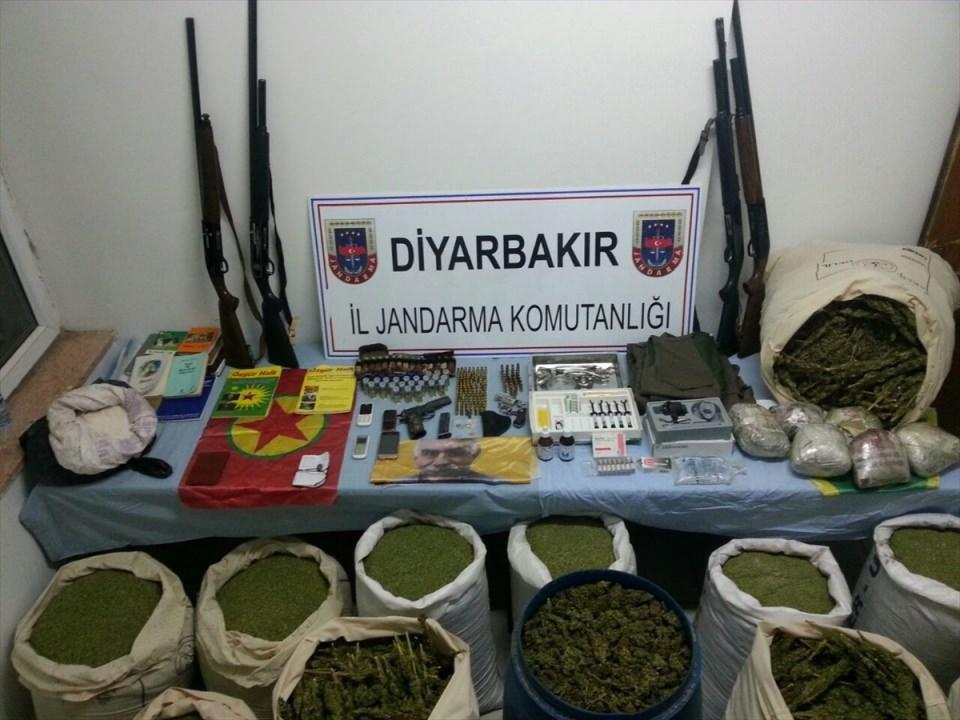 Diyarbakır'da terör operasyonu 12