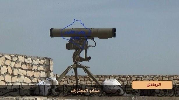Terör örgütü DAEŞ'in elinde hangi silahlar var? 35