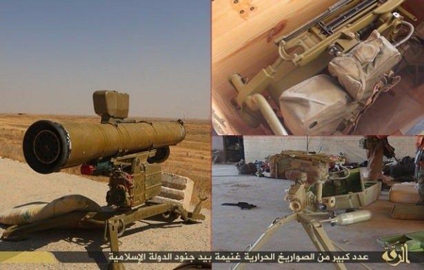 Terör örgütü DAEŞ'in elinde hangi silahlar var? 36