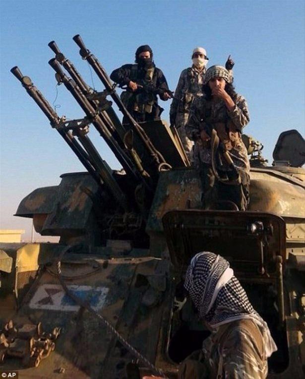 Terör örgütü DAEŞ'in elinde hangi silahlar var? 4
