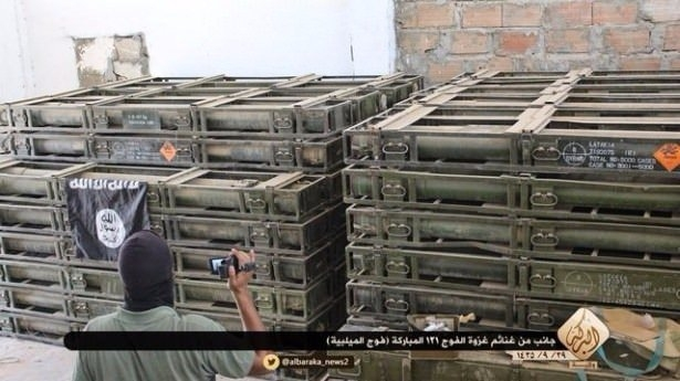 Terör örgütü DAEŞ'in elinde hangi silahlar var? 52