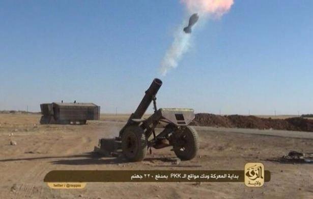 Terör örgütü DAEŞ'in elinde hangi silahlar var? 56