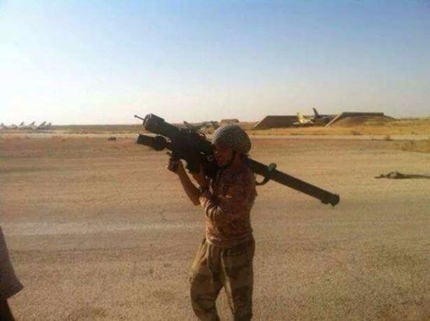 Terör örgütü DAEŞ'in elinde hangi silahlar var? 58