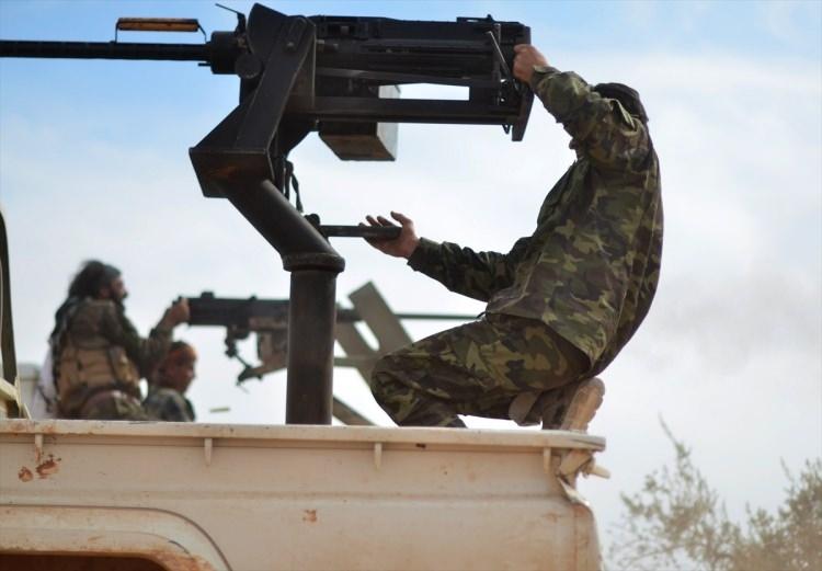 Terör örgütü DAEŞ'in elinde hangi silahlar var? 95