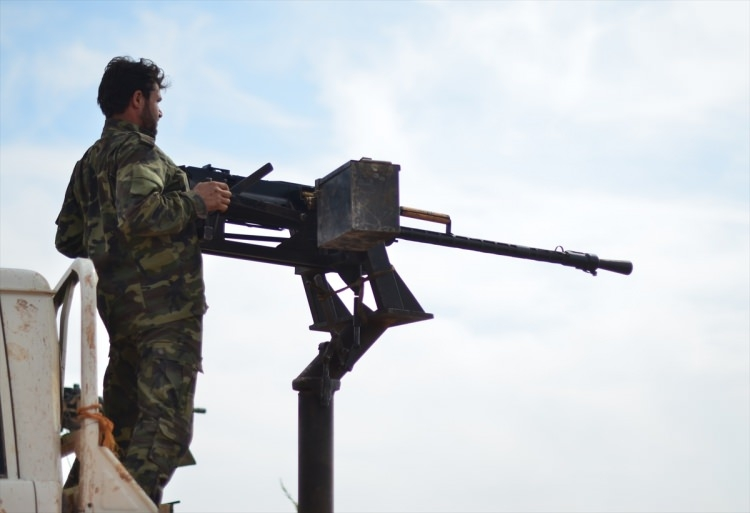 Terör örgütü DAEŞ'in elinde hangi silahlar var? 96