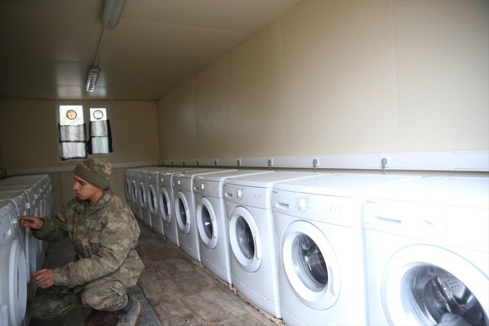 İşte Fırat Kalkanı'ndaki askerlerin yaşamı 1