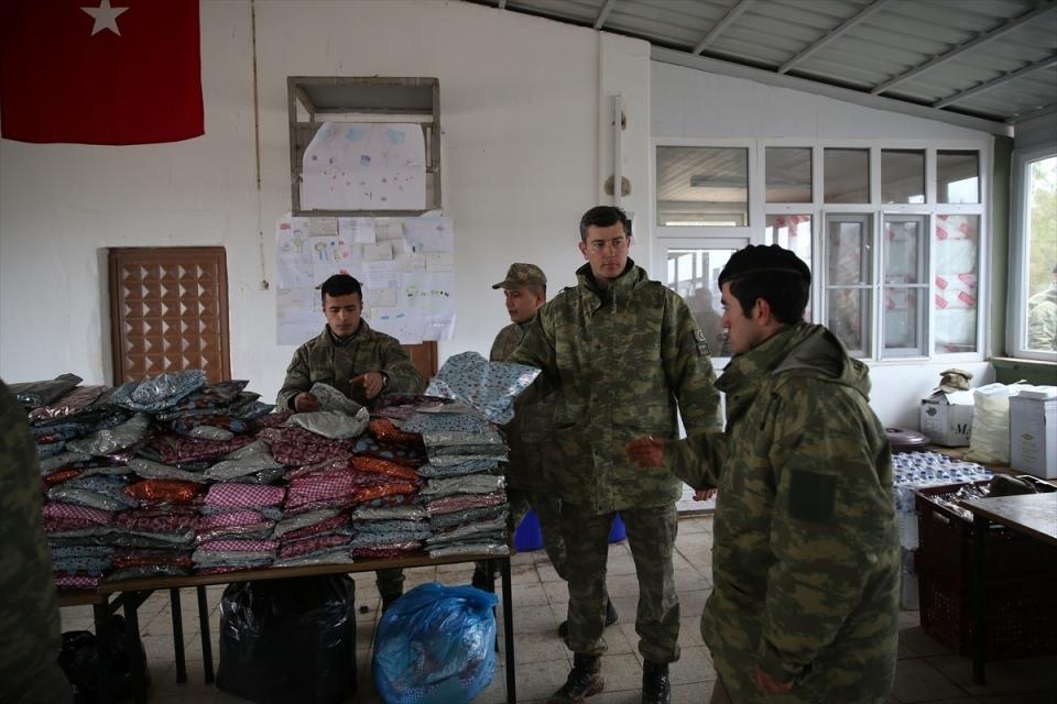 İşte Fırat Kalkanı'ndaki askerlerin yaşamı 18