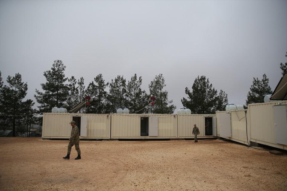 İşte Fırat Kalkanı'ndaki askerlerin yaşamı 2