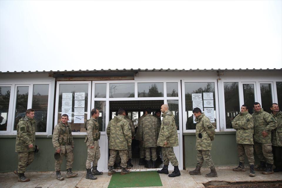 İşte Fırat Kalkanı'ndaki askerlerin yaşamı 20