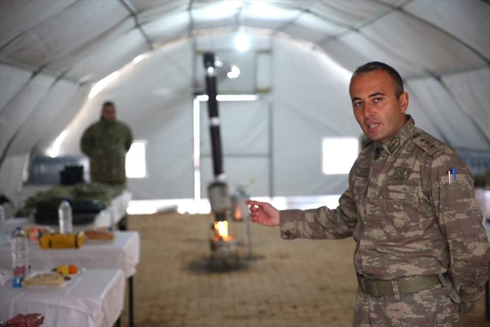 İşte Fırat Kalkanı'ndaki askerlerin yaşamı 22