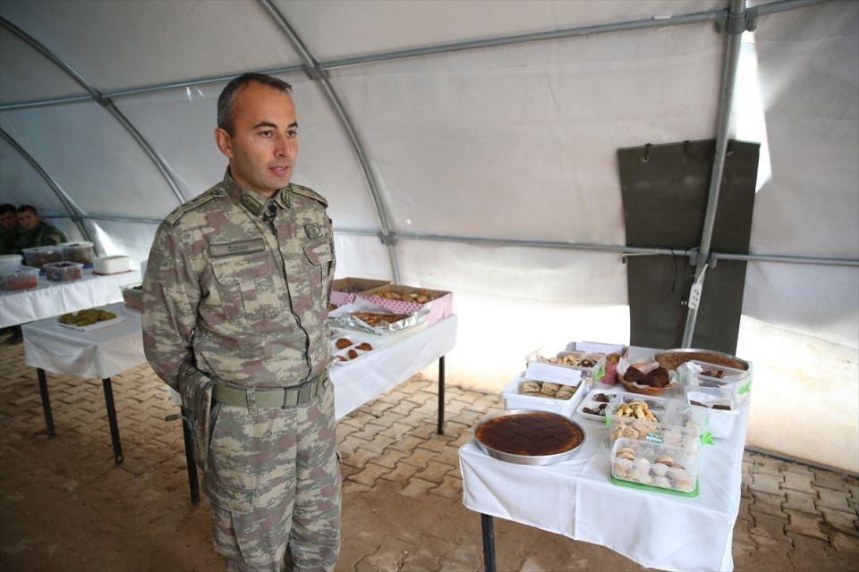 İşte Fırat Kalkanı'ndaki askerlerin yaşamı 23