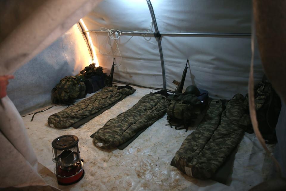 İşte Fırat Kalkanı'ndaki askerlerin yaşamı 35