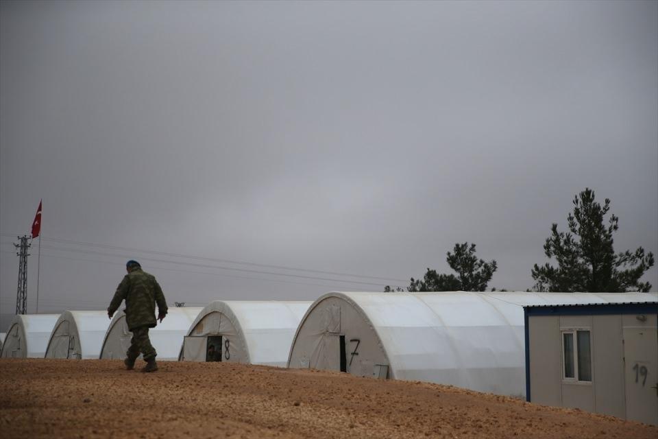 İşte Fırat Kalkanı'ndaki askerlerin yaşamı 4
