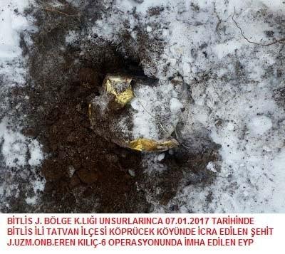 Bitlis'te terör operasyonu 1