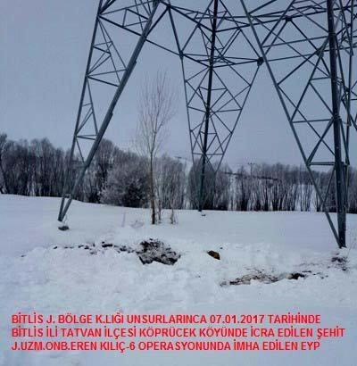 Bitlis'te terör operasyonu 2