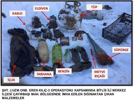 Bitlis'te terör operasyonu 4