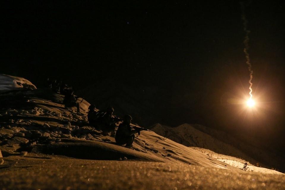 Bitlis'te terör operasyonu 46
