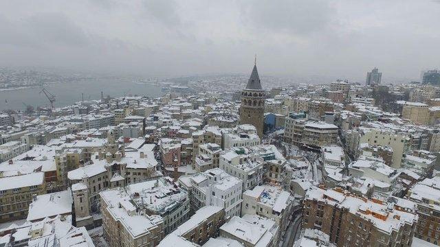 Kar yağışı daha ne kadar sürecek? 1