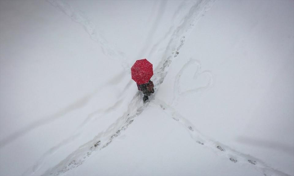 Kar yağışı daha ne kadar sürecek? 106