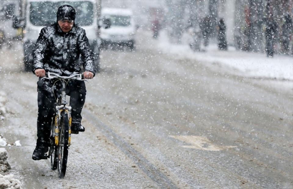 Kar yağışı daha ne kadar sürecek? 114