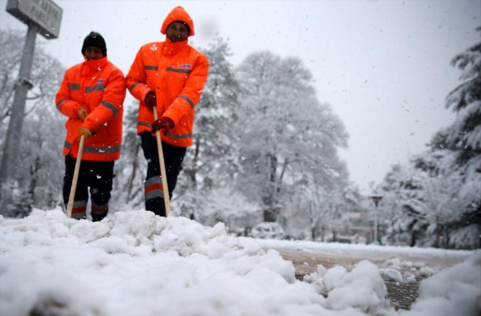 Kar yağışı daha ne kadar sürecek? 117