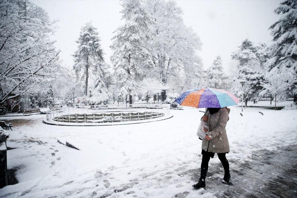 Kar yağışı daha ne kadar sürecek? 119