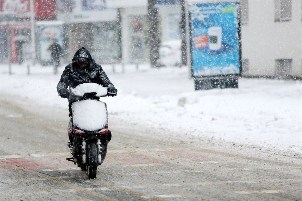Kar yağışı daha ne kadar sürecek? 120