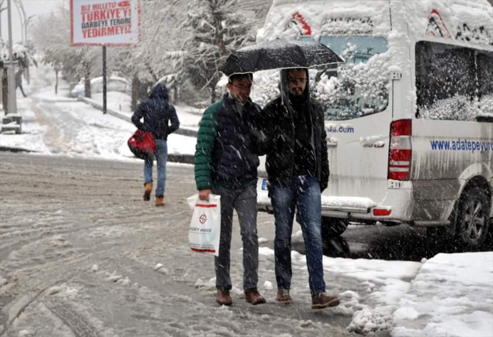 Kar yağışı daha ne kadar sürecek? 144