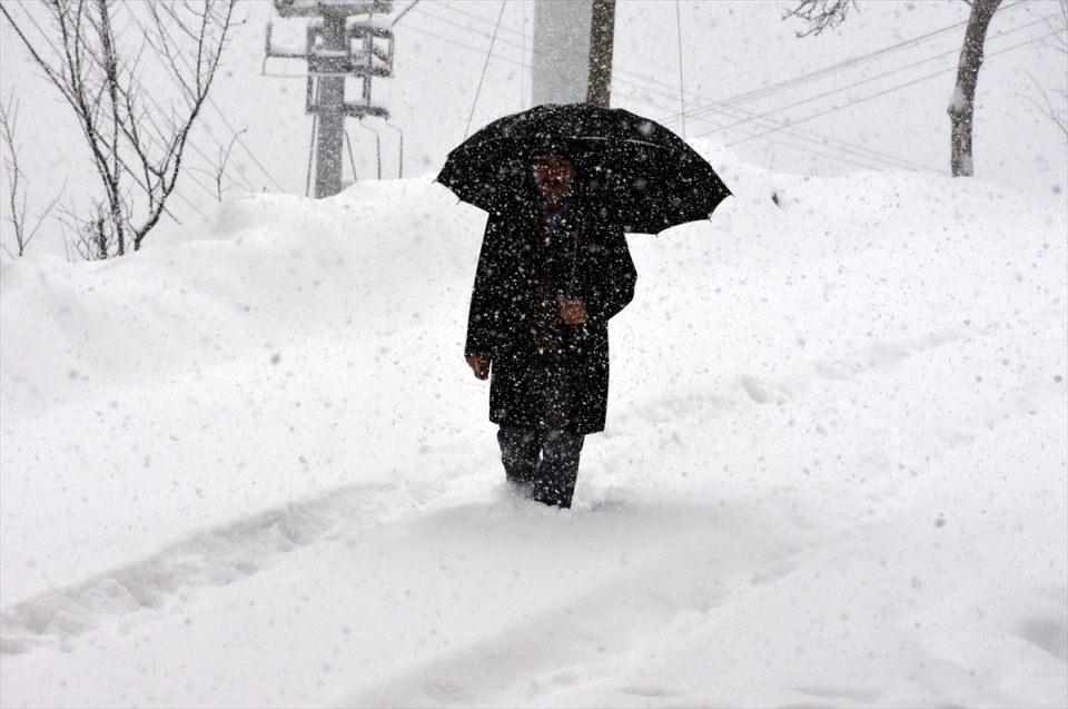 Kar yağışı daha ne kadar sürecek? 145
