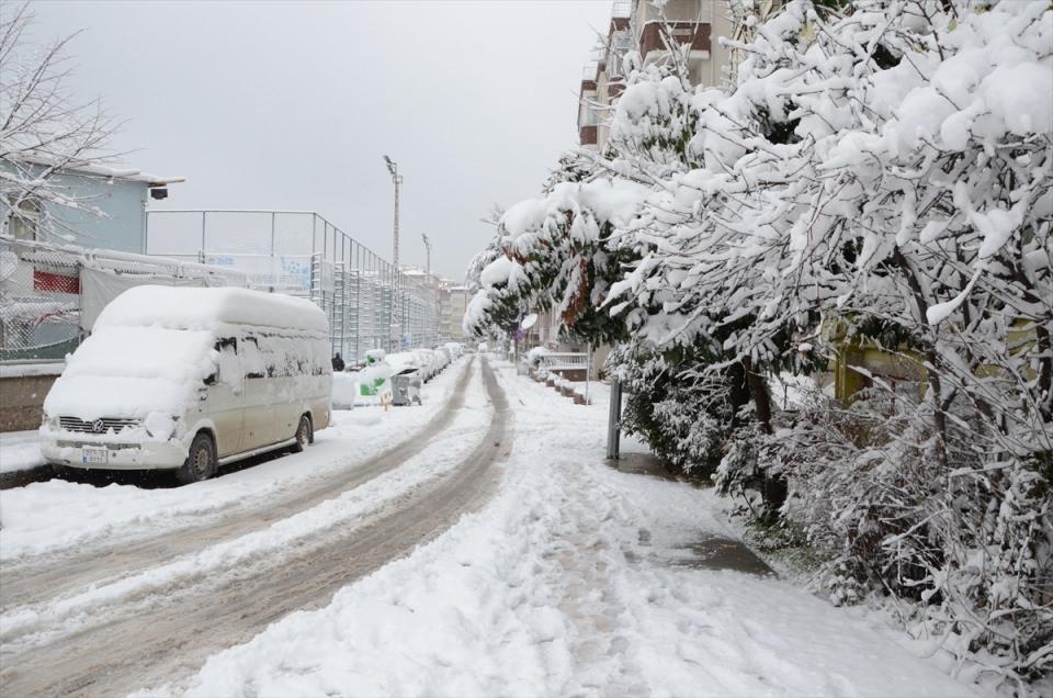 Kar yağışı daha ne kadar sürecek? 150