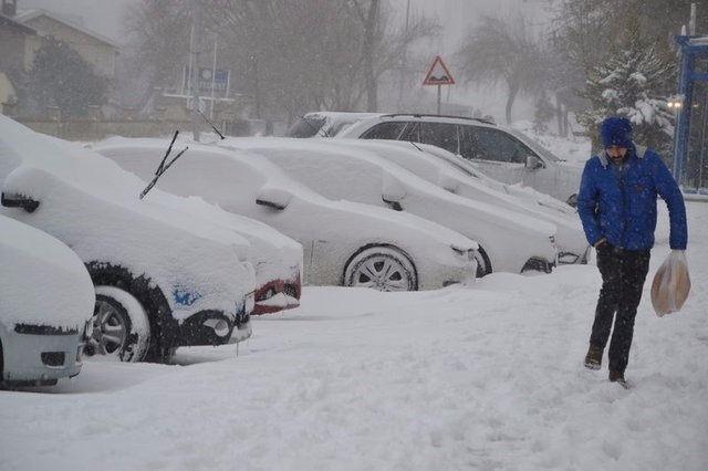 Kar yağışı daha ne kadar sürecek? 5