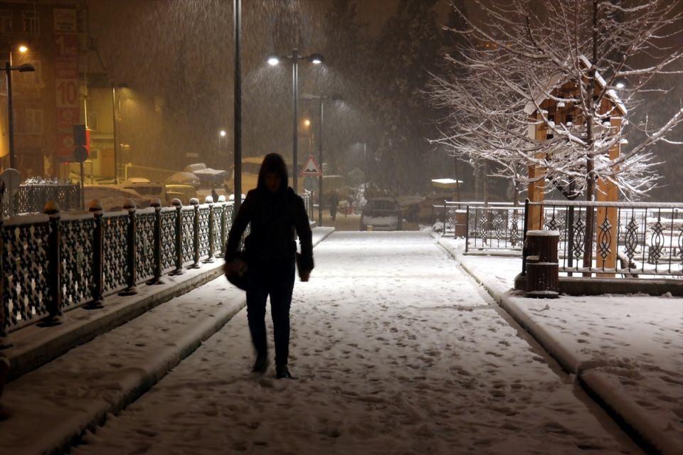 Kar yağışı daha ne kadar sürecek? 88