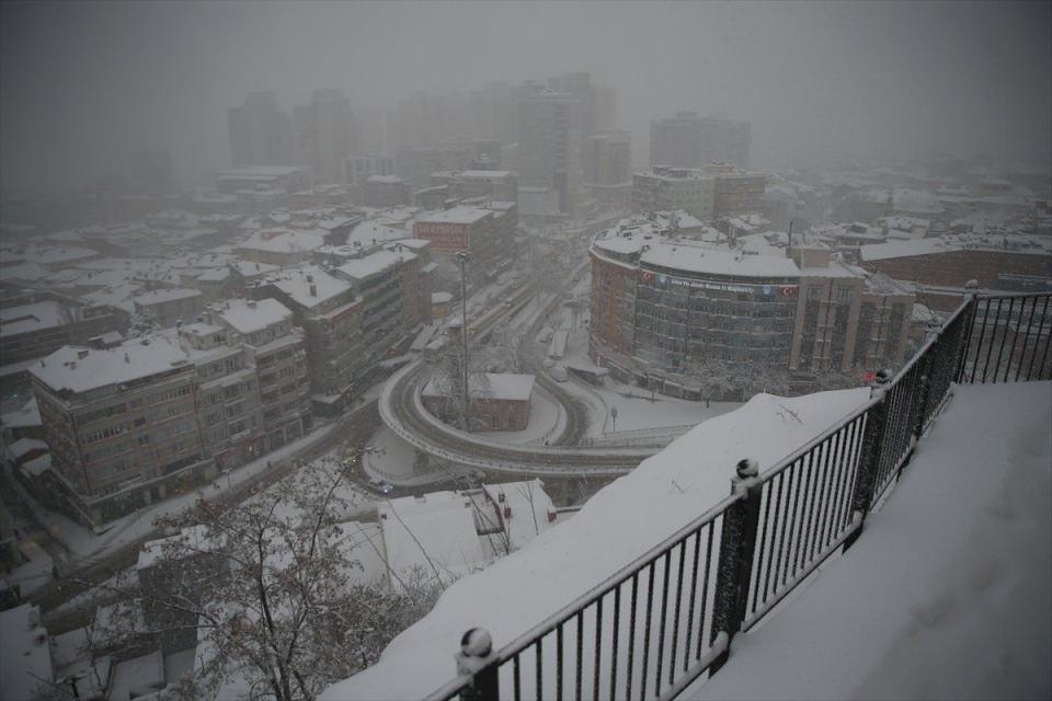 Kar yağışı daha ne kadar sürecek? 98