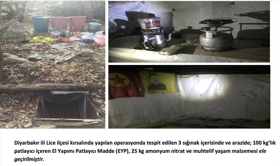 Tunceli'de terör örgütüne operasyon 115