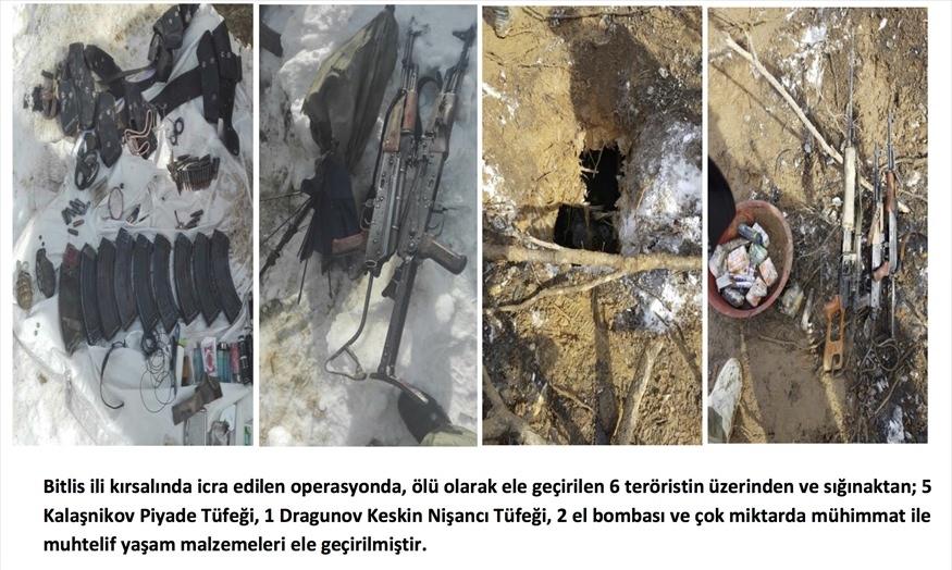 Tunceli'de terör örgütüne operasyon 117