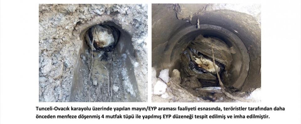Tunceli'de terör örgütüne operasyon 127