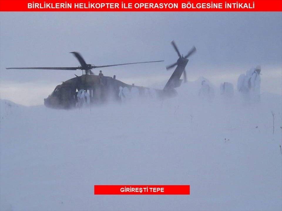 Tunceli'de terör örgütüne operasyon 70