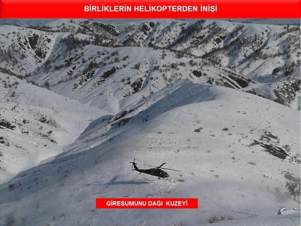 Tunceli'de terör örgütüne operasyon 72