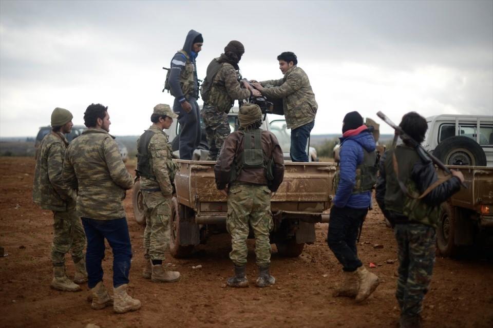 Cerablus'ta Türk askerinin konvoyuna hain pusu! 66