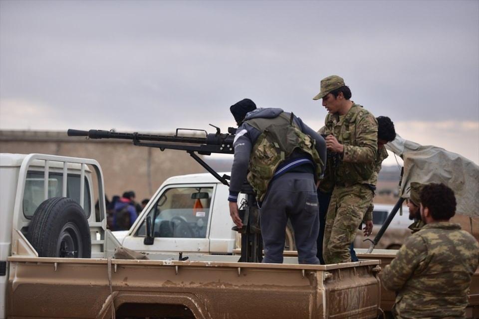 Cerablus'ta Türk askerinin konvoyuna hain pusu! 73