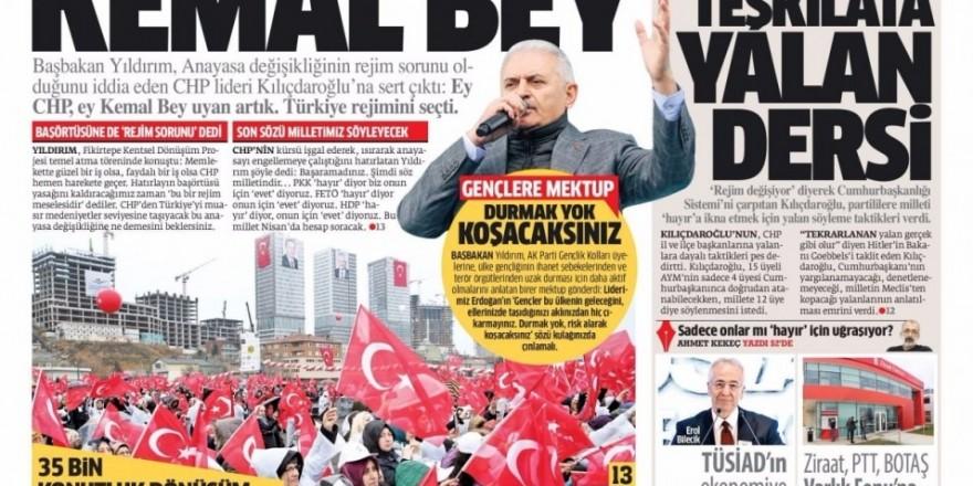 6 Şubat Pazartesi Gazete Manşetleri