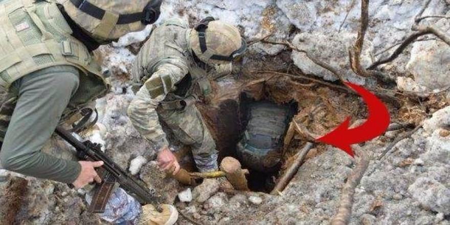 İşte 11 teröristin öldüğü operasyonun fotoğrafları