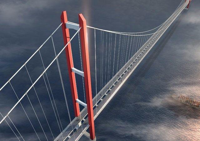 Dünyanın en uzun köprüsü olacak 1