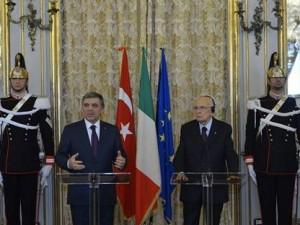 Cumhurbaşkanı Gül'den İtalya tweetleri